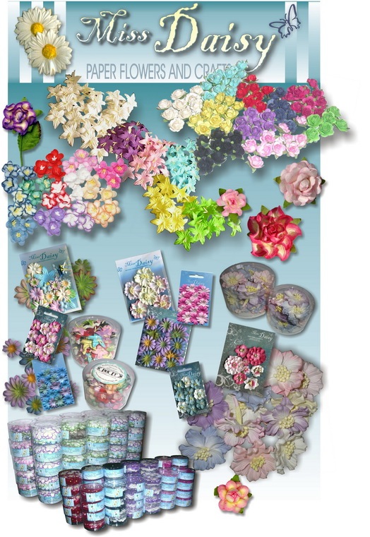 Ganyah trading paper flowers loose in bulk mightylinksfo